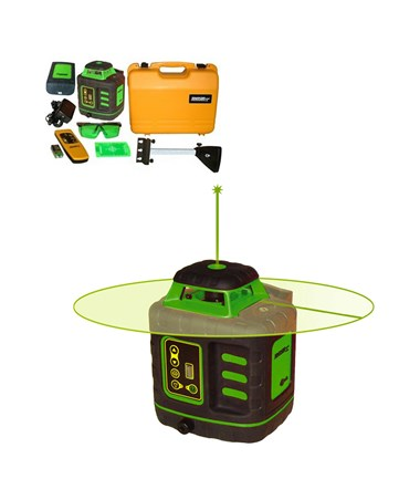 Johnson 40-6543 Green Beam Self-Leveling Rotary Laser JOH40-6543