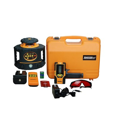 Johnson 40-6557 Electronic Self-Leveling Rotary Laser Kit JOH40-6557