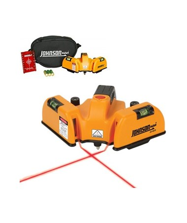 Johnson Level Red Beam Floor Line Laser JOH-40-6618