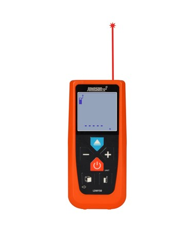 Johnson Level 150' Laser Distance Meter JOHLDM150