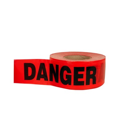 Keson Red Barricade Tape