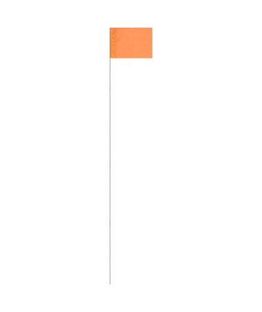 Keson Surveyor Glo-Orange Stake Flag