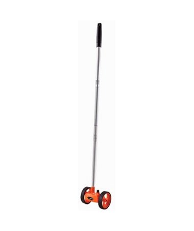 Keson RR102 Roadrunner Small Telescopic Dual Measuring Wheel Feet, 10ths