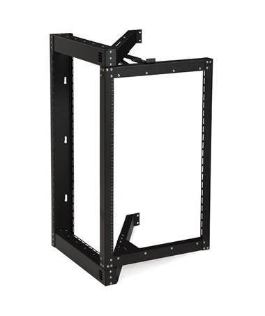 Kendall Howard 18U Phantom Class Open Frame Swing-Out Wall Mount Rack KNH1915-3-800-18