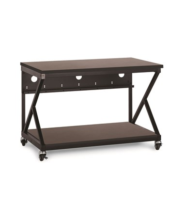 "Kendall Howard Performance 300 Series 48"" LAN Station, African Mahogany KNH5000-3-304-48"