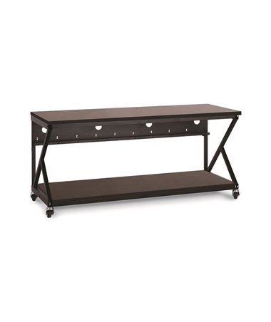 "Kendall Howard Performance 300 Series 72"" LAN Station, African Mahogany KNH5000-3-304-72"