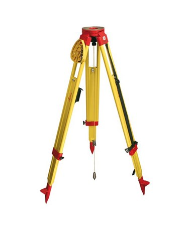 Leica GST Heavy Duty Telescopic Wooden Tripod