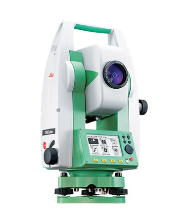 "Leica TS02 Plus 7"" R500 Basic Total Station Package LEI6007889"