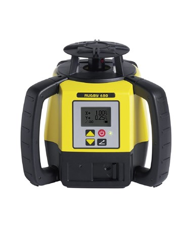 Leica Rugby 680 Dual Grade Laser Level LEI6011160-