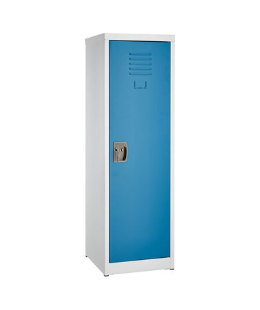 "AdirOffice 48"" Locker for Kids Blue 629-01-BLU"