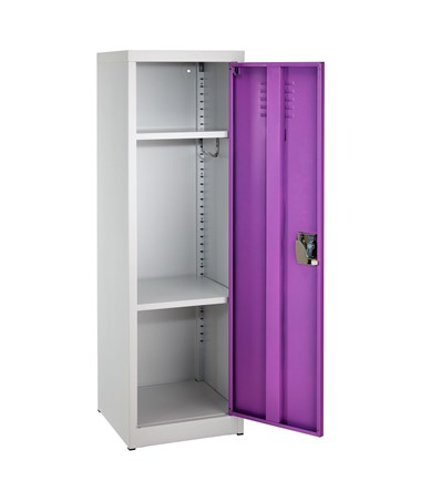 "AdirOffice 48"" Locker for Kids Purple 629-01-PUR"
