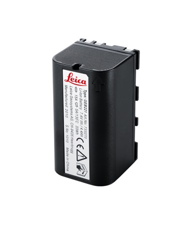 Leica GEB221, Lithium-Ion battery, 7.4V/4.4Ah, chargeable. LEI733270