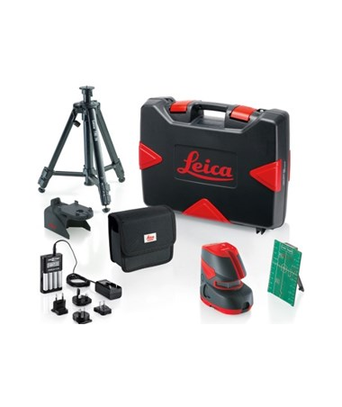 Leica Lino L2G+ Cross Line Laser Green Beam Pro Kit 817857