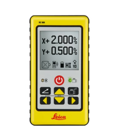 Leica RC800A Remote Control for Rugby 820 and 840 Rotary Lasers 840706