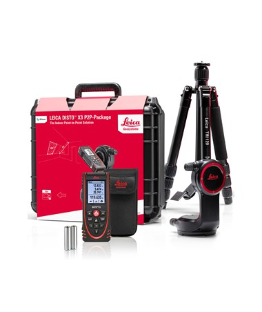 Leica 887687 Disto X3 Laser Distance Meter Indoor P2P Package
