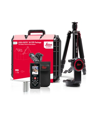 Leica 887891 Disto X4 Laser Distance Meter Outdoor P2P Package