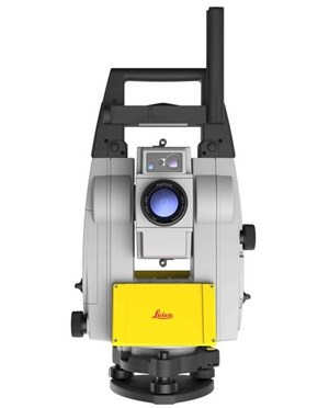ICON iCR80 Robotic Construction Total Station (Rear View)