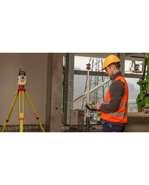 ICON iCR80 Robotic Construction Total Station (On the Field_1)