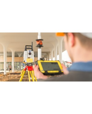ICON iCR80 Robotic Construction Total Station using Optional ICON Tablet