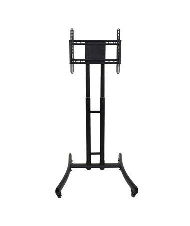 Luxor Adjustable Height Rolling TV Stand LUXFP