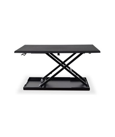 "Luxor Level Up 32"" Standing Desk Converter LUXLVLUP32-BK"