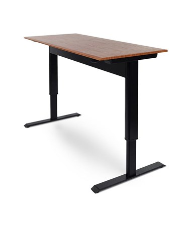 "Luxor 56""W Pneumatic Height Adjustable Standing Desk SPN56F-BK/TK"