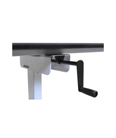 Luxor 40 Quot Single Column Crank Stand Up Desk Tiger Supplies