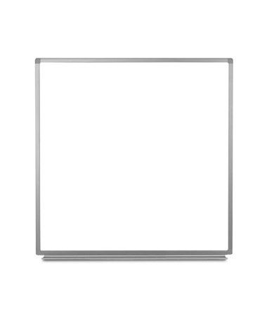 "Luxor 48""W x 48""H Wall-Mounted Magnetic Whiteboard WB4848W"