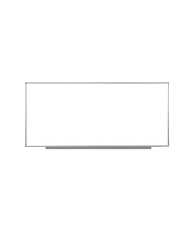 "Luxor 96""W x 40""H Wall-Mounted Magnetic Whiteboard WB9640W"