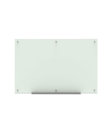 "Luxor 60""W x 40""H Wall-Mounted Magnetic Glass Board WGB6040M"