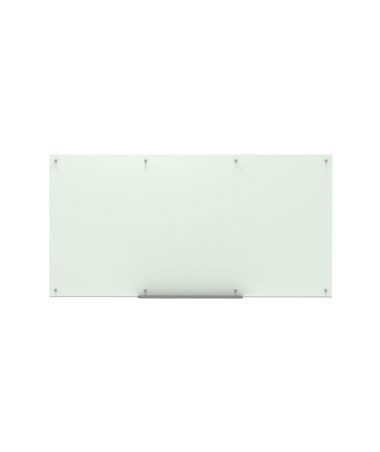 "Luxor 96""W x 48""H Wall-Mounted Magnetic Glass Board WGB9648M"