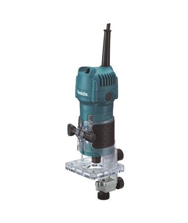 "Makita 3709 1/4"" Laminate Trimmer with Fixed Base MAK3709"