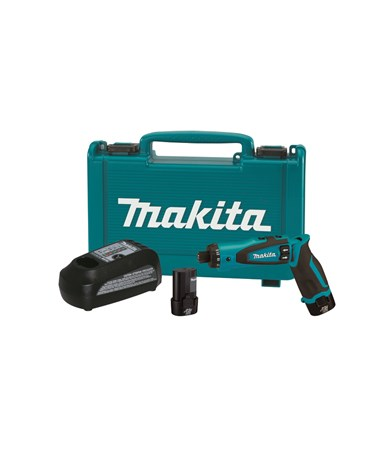 "Makita DF010DSE 7.2V Lithium-Ion Cordless 1/4"" Hex Driver-Drill Kit with Auto-Stop Clutch MAKDF010DSE"