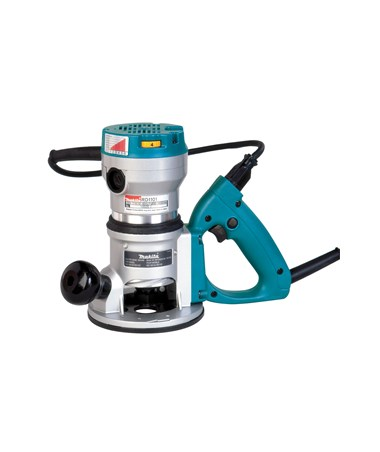Makita RD1101 2-1/4 HP D-Handle Router 8,000-24,000 RPM, Variable Speed MAKRD1101