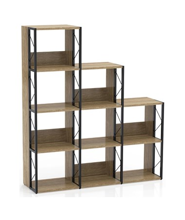 Mayline SOHO Multi Height Bookcase, Natural MAY1003