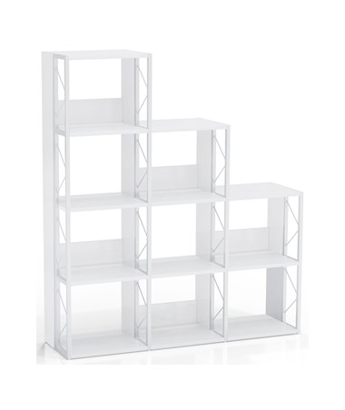 Mayline SOHO Multi Height Bookcase, White MAY1003