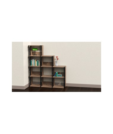 Mayline SOHO Multi Height Bookcase MAY1003