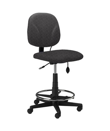Mayline Swivel Drafting Chair MAY4005AG Gray