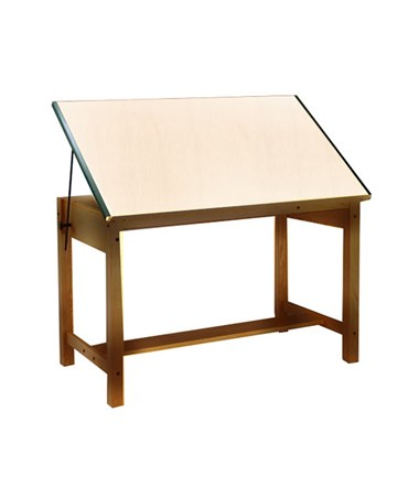 Mayline Ranger Drafting Table MAY7706-U Golden Oak Finish