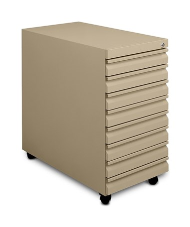 Mayline Mobile B-Size Eight-Drawer File 9P810