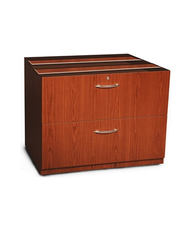 Mayline Aberdeen Series 36-Inch Credenza Lateral File MAYACLF36 Cherry