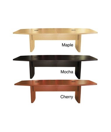 Mayline Aberdeen Series Boat-Shaped Six-Foot Conference Table MAYACTB6