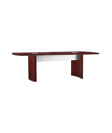"Mayline 96""W x 42""D Medina Conference Table Mahogany MNC8LMH"