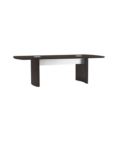 "Mayline 96""W x 42""D Medina Conference Table Mocha MNC8LDC"