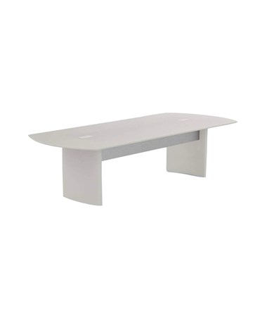 "Mayline 96""W x 42""D Medina Conference Table Textured Sea Salt MNC8TSS"