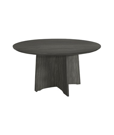 Mayline Medina Series Round Conference Table MAYMNCR48LGS-