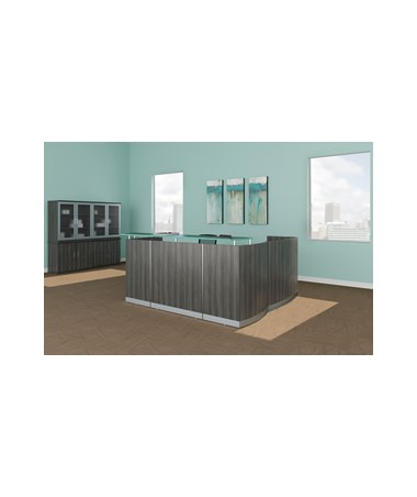 Mayline Medina Series Reception Station MAYMNRSLGS-