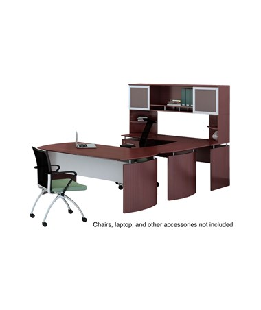 Mayline Medina Office Suite 35 Mahogany