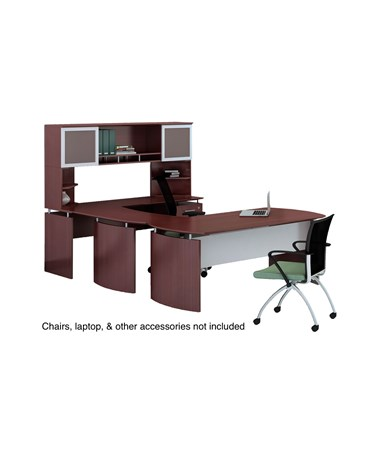 Mayline Medina Office Suite 36 Mahogany