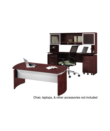 Mayline Medina Office Suite 38 Mahogany